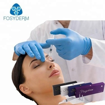 Chine gel d'injection de Hyaluronate de sodium de visage de 1ml 2ml, remplisseur cutané d'ha de nez injectable usine
